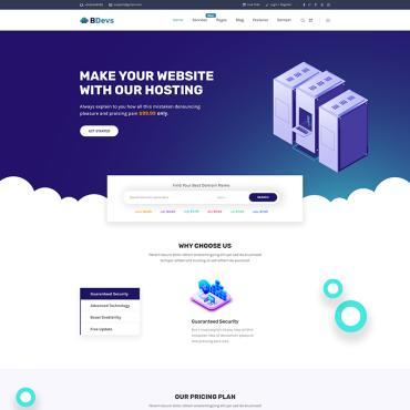 Купить  пофессиональные Bootstrap и html шаблоны. Купить шаблон #81745 и создать сайт.