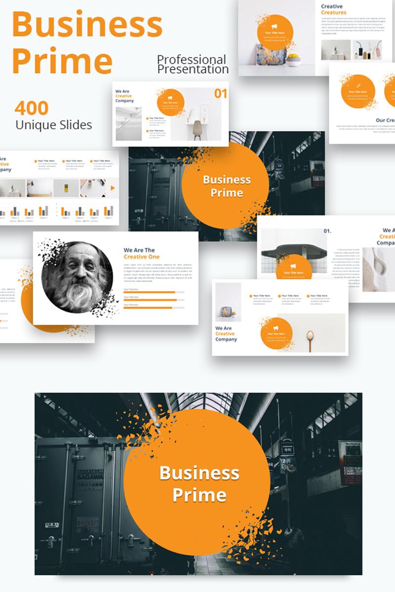 """""""Business Prime"""" Google Slides №81771"""