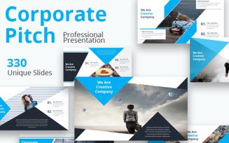 Corporate Pitch Premium - Keynote template