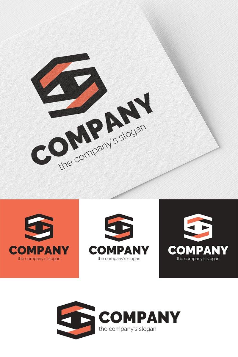 S + eye Logo Template