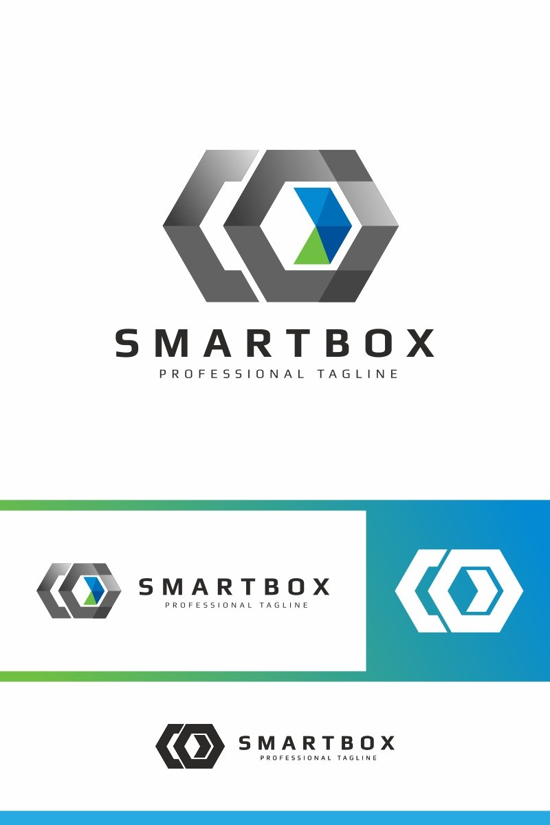 Smart Box Logo Template