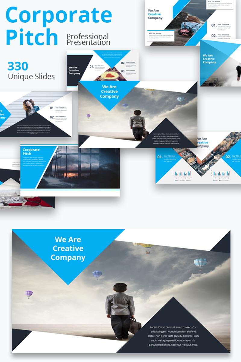 Szablon Keynote Corporate Pitch Premium #81780