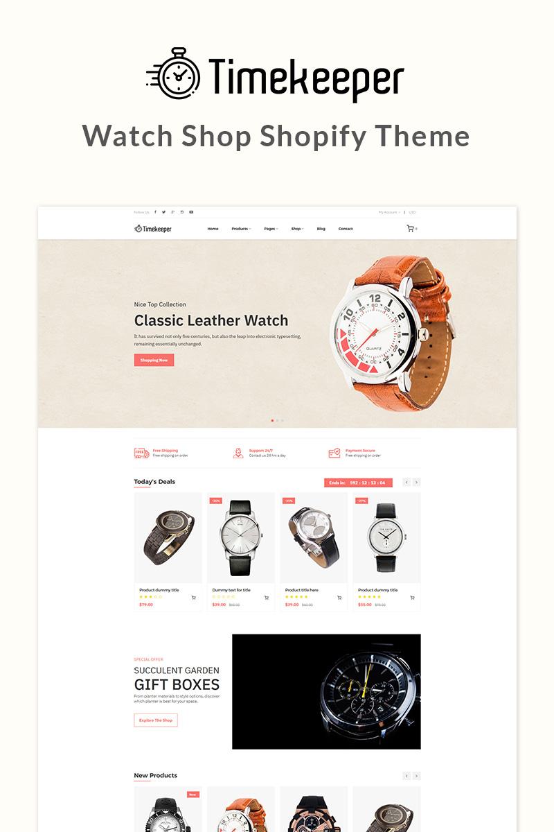 Timekeeper - Watch shop Shopify Theme - screenshot