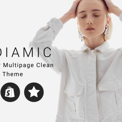 Diamic - Jewelry Multipage Clean Shopify Theme Shopify Theme #81891