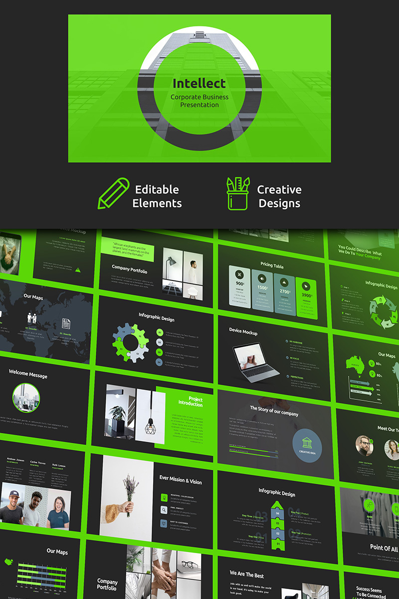 Intellect Corporate Business PowerPoint Template