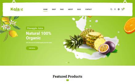 Kola Organic & Food PrestaShop Theme