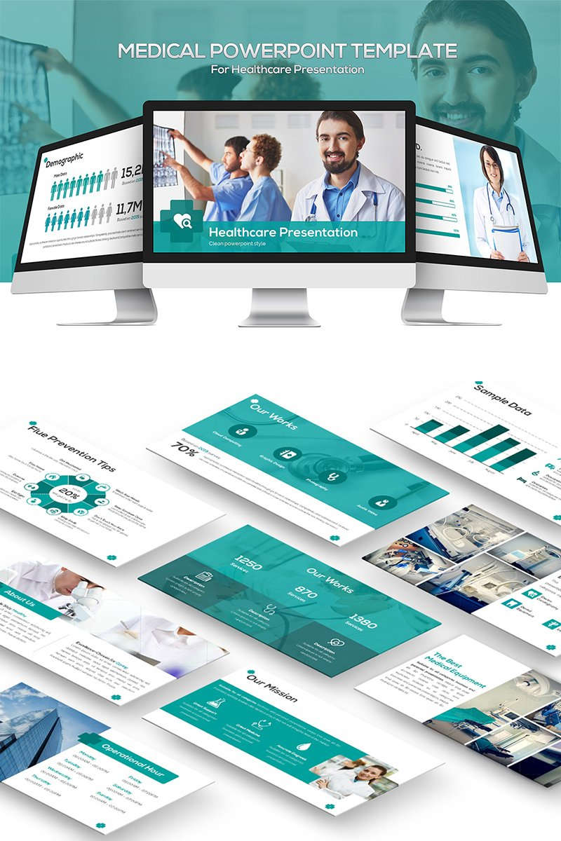 Medical Template PowerPoint №81864
