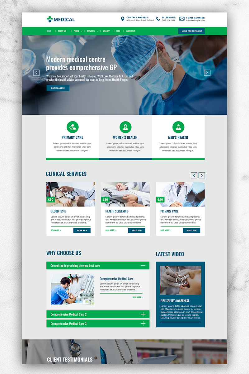 Medical Web Sitesi #81898