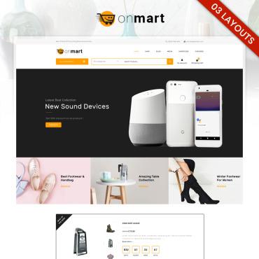 Купить  пофессиональные WooCommerce шаблоны. Купить шаблон #81935 и создать сайт.