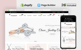 Elements Jewellery Store Shopify Theme