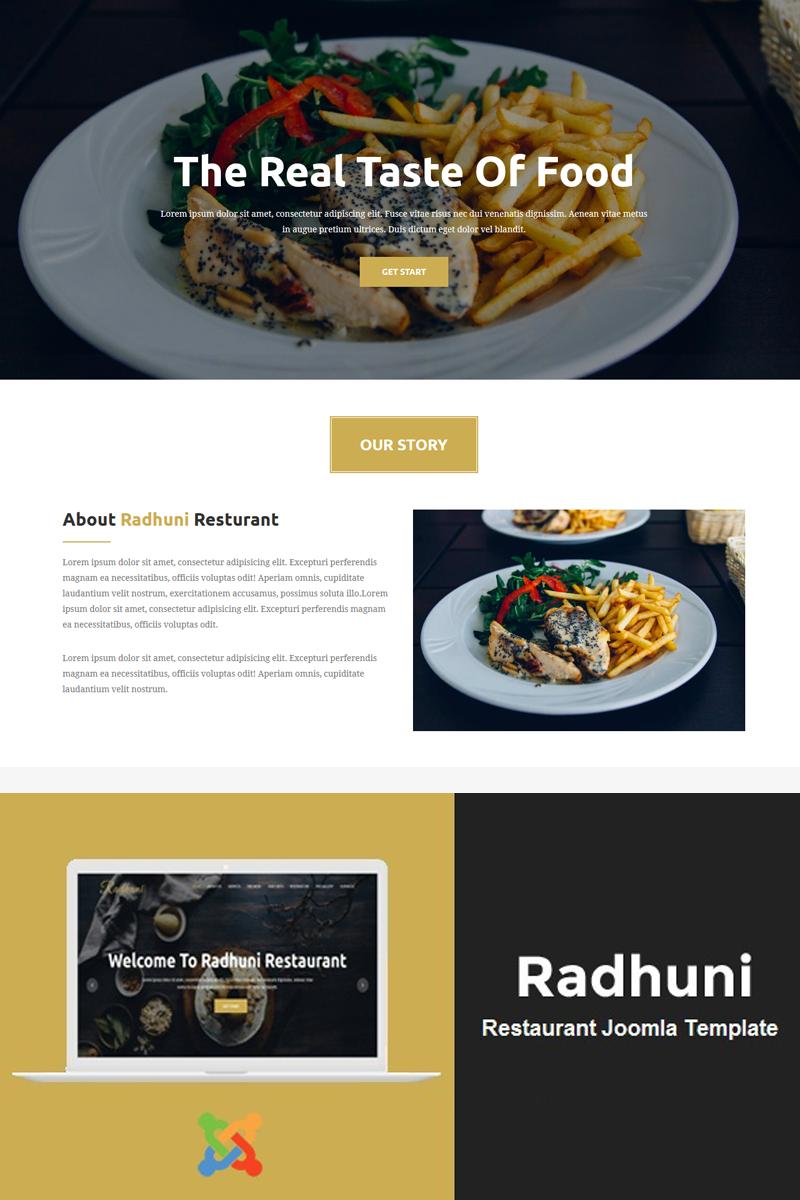 "Joomla Vorlage namens ""Radhuni - Multipurpose Business"" #81915"