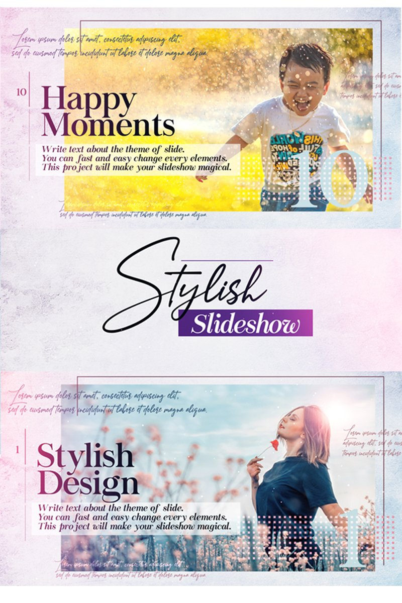 "After Effects Intro ""Stylish Slideshow"" #82004"