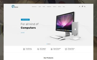 eTech Electronics Store OpenCart Template
