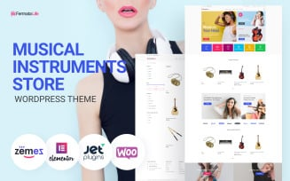 FermataLife - Musical Instruments Store ECommerce Classic Elementor WooCommerce Theme