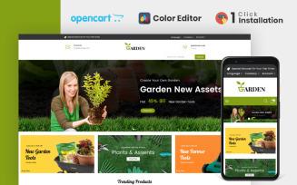 Garden Tools Store OpenCart Template