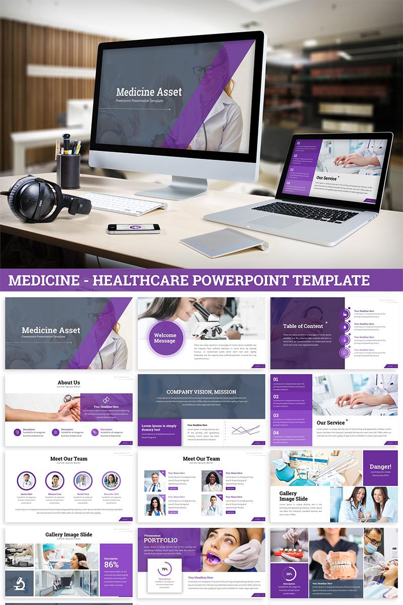 """Medicine - Healthcare"" PowerPoint Template №82037"