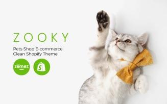 Zooky - Pets Shop E-commerce Clean Shopify Theme