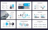 Excelencia Minimalist PowerPoint Slides Design PowerPoint sablon