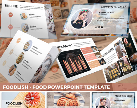 Foodlish - Food PowerPoint Template