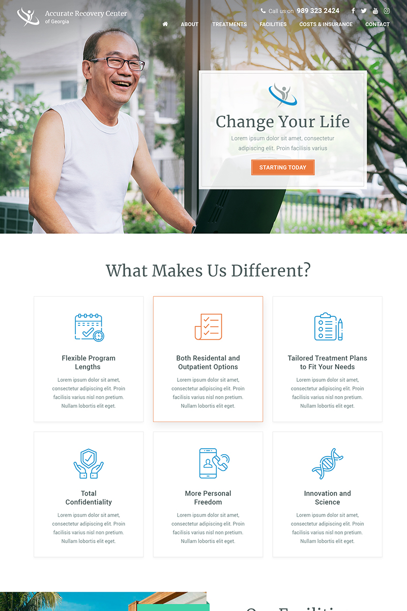 Accurate Recovery - Healthcare PSD Template