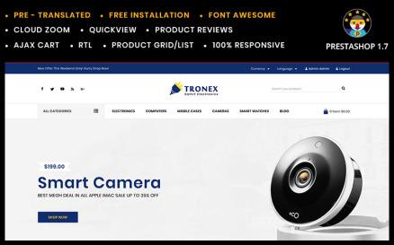 Tronex Electronics PrestaShop Theme