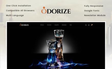 Odorize Perfume Store OpenCart Template