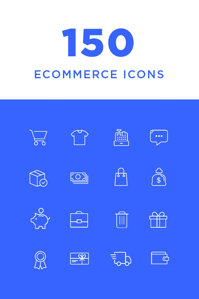 Ecommerce Iconset #82210