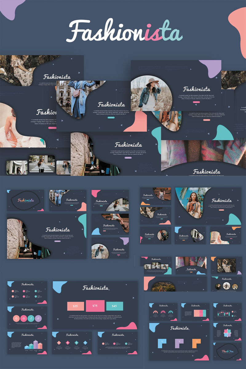 Fashionista PowerPoint Template