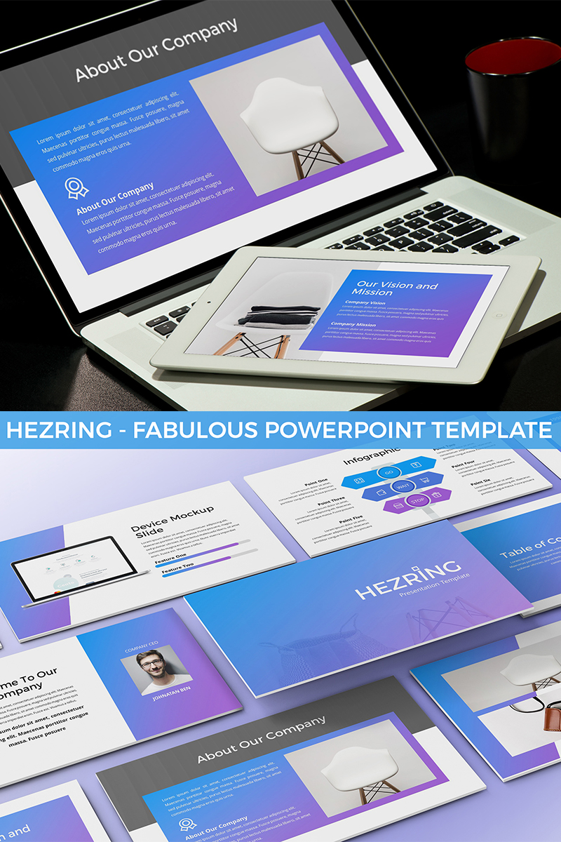 Hezring - Fabulous PowerPoint Template