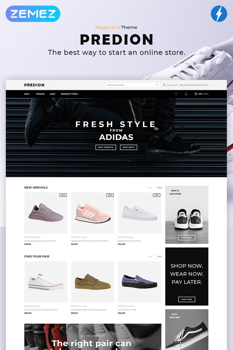 Predion - eCommerce Simple Shoe Store Magento #82297