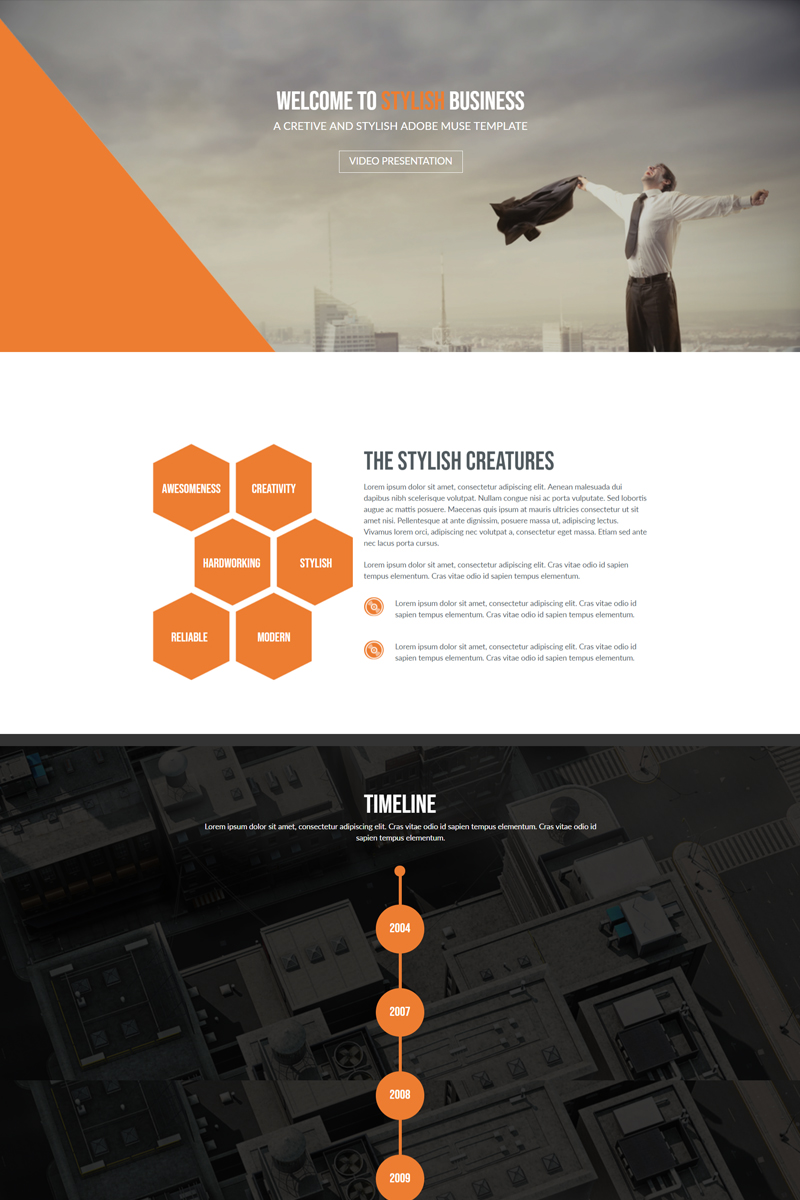 Stylish Business Muse Template