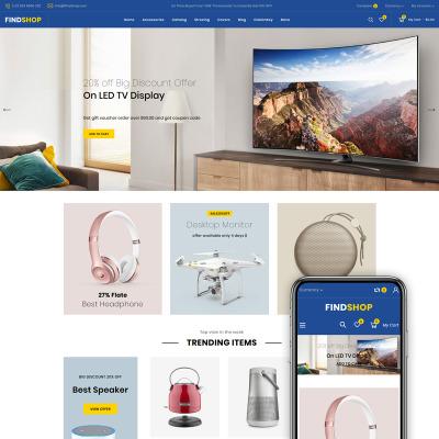 Elektronik Shopify-tema