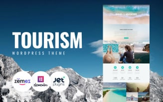Closez - Tourism One Page Modern WordPress Elementor Theme