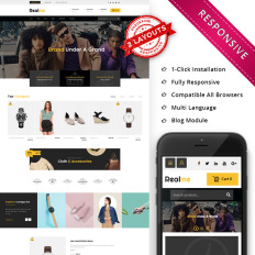 Woocommerce Themes Groupon - Template Monster