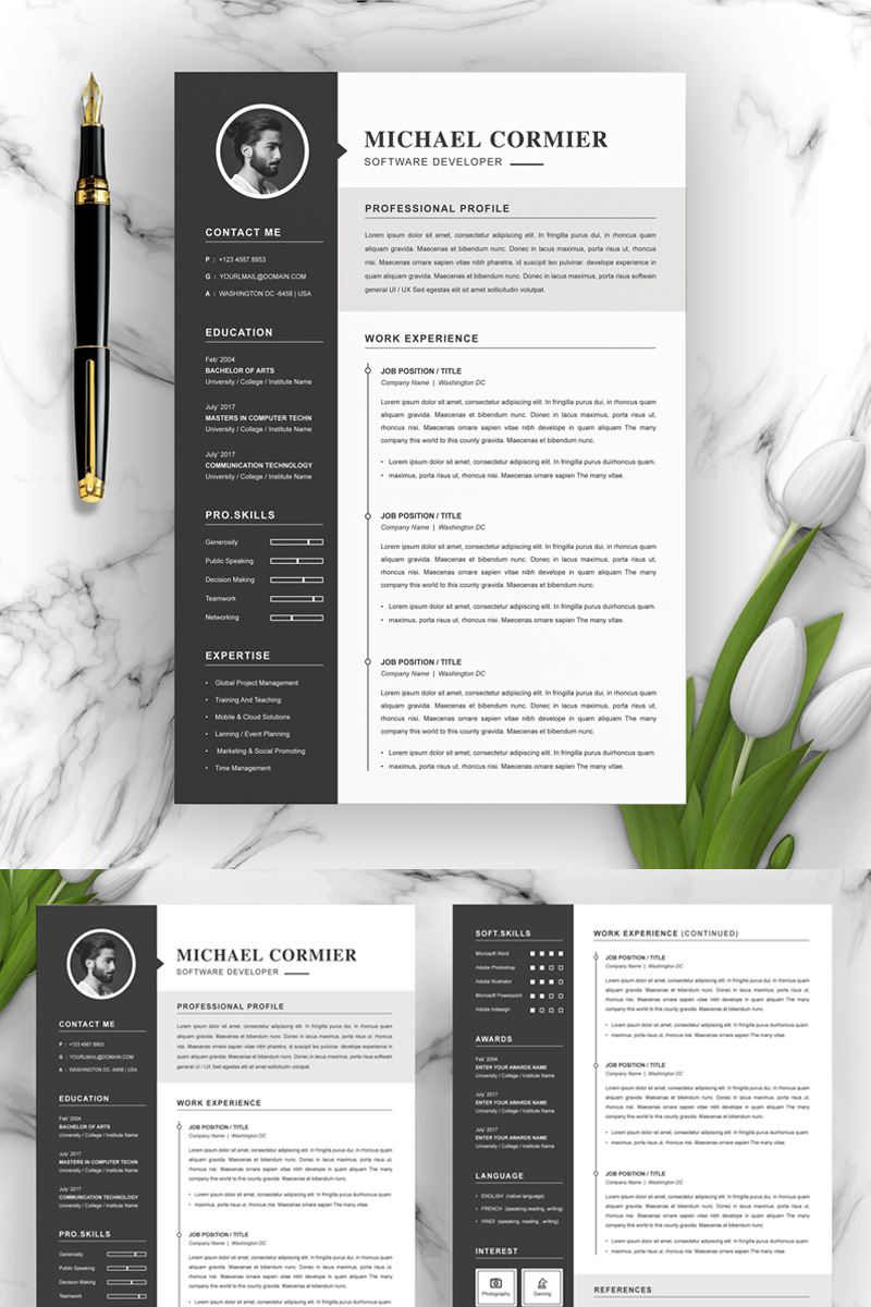 Michael Resume Template