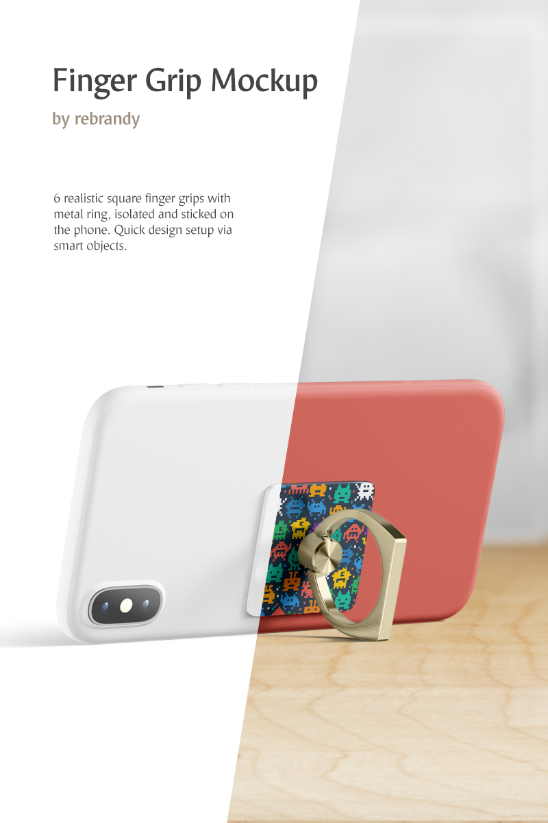 """Produktmodell namens """"Finger Grip"""" #82408"""