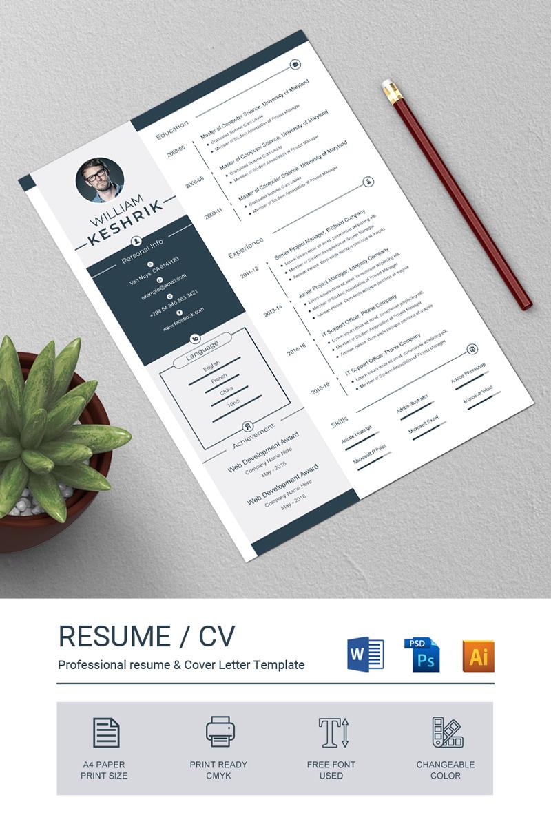 William Keshrik Resume Template