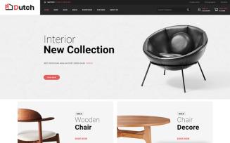 Dutch - Furniture Store WooCommerce Theme