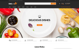 Eatyum - Restaurant Shop OpenCart Template