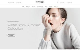 Poveria - Fashion Store Shopify Theme