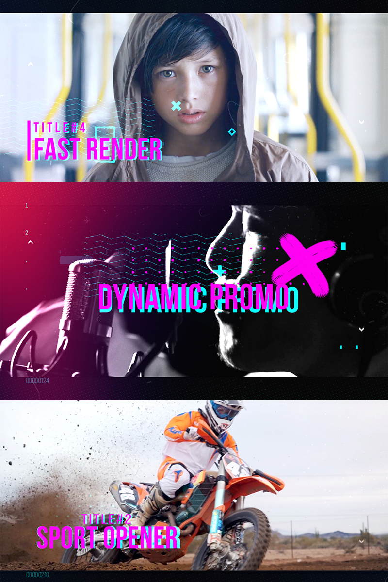 """""""Dynamic Reel"""" After Effects Intro №82504"""