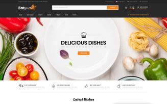 Eatyum - Restaurant Shop OpenCart Template