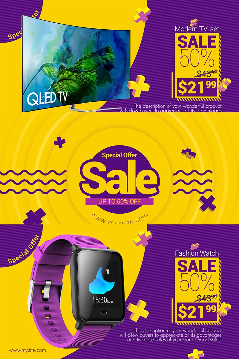 """""""Fresh Sale"""" After Effects Intro №82528 - screenshot"""
