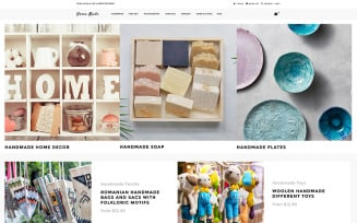 Home Made - Hobbies & Crafts Multipage Clean Shopify Theme