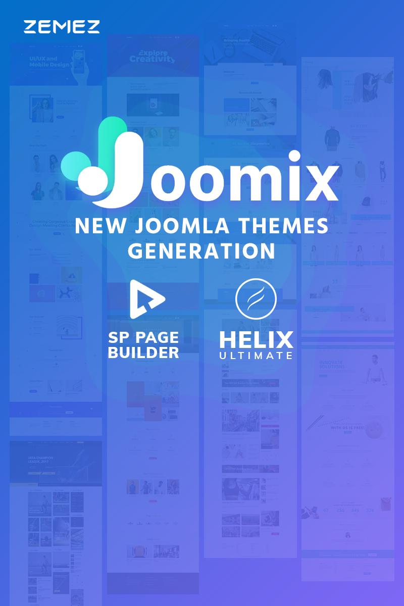 Joomix - Multipurpose Modern Joomla Template - screenshot