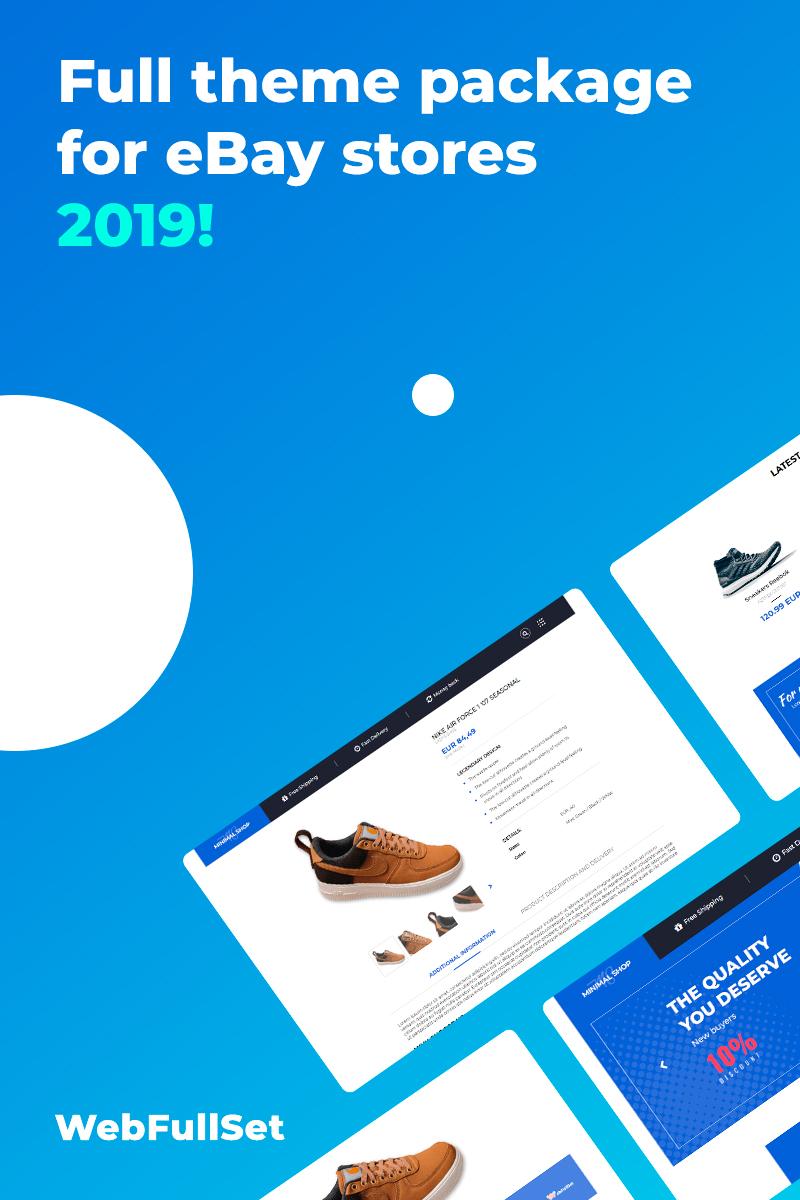 Responsive MinimalShop v3 Ebay #82562 - Ekran resmi