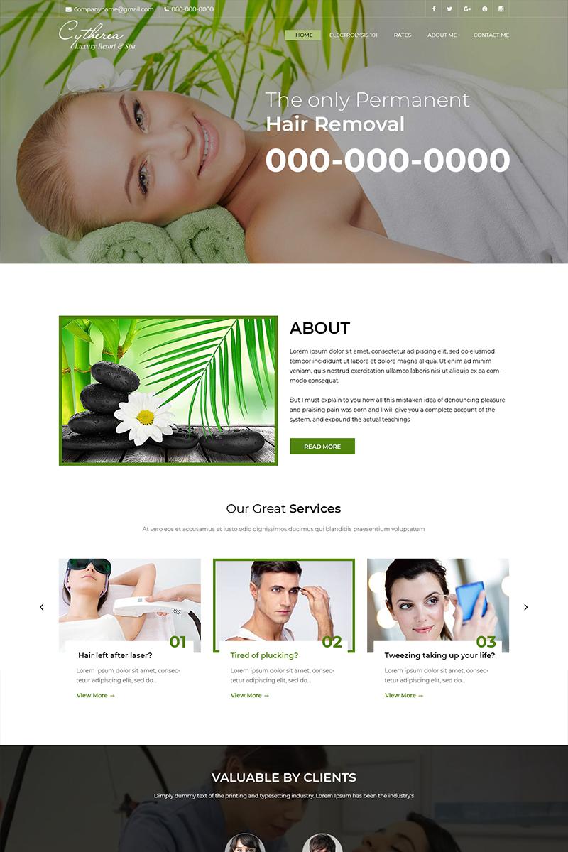 Szablon PSD Cytheria - Beauty Spa #82563