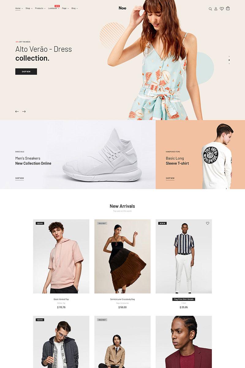 """WooCommerce Theme namens """"Noe - Stylish & Fashion"""" #82598"""