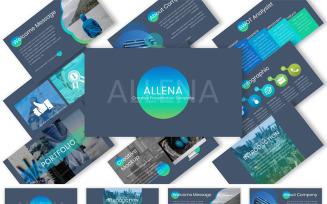 Allena Keynote Template