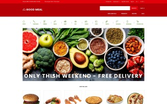 Good Meal - Food Store Multipage Creative OpenCart Template